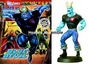 Eaglemoss DC Comics Super Hero Figurine Collection #090 Blue Devil